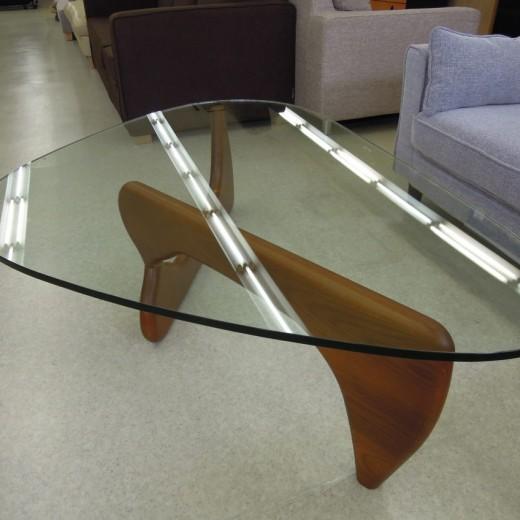 ガラスセンターテーブル