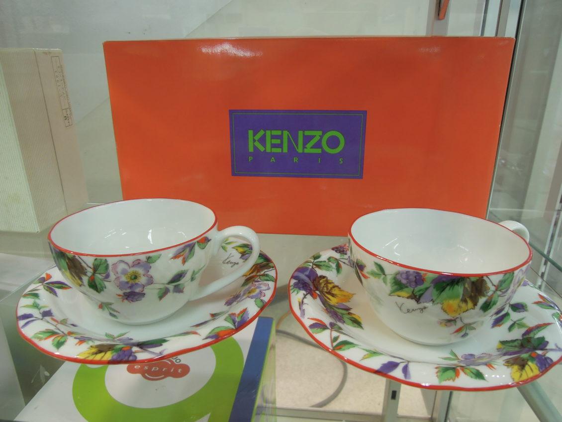 KENZO/コーヒーカップ(ペア)
