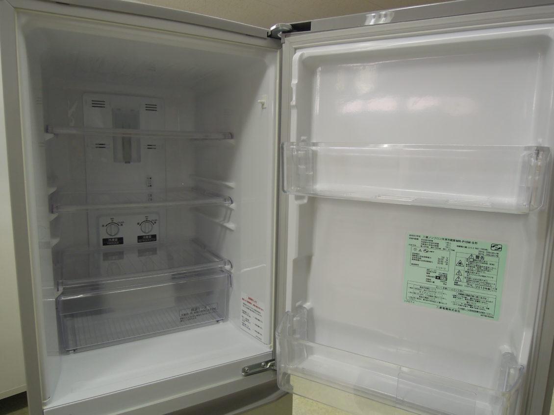 三菱 2ドア冷蔵庫画像1