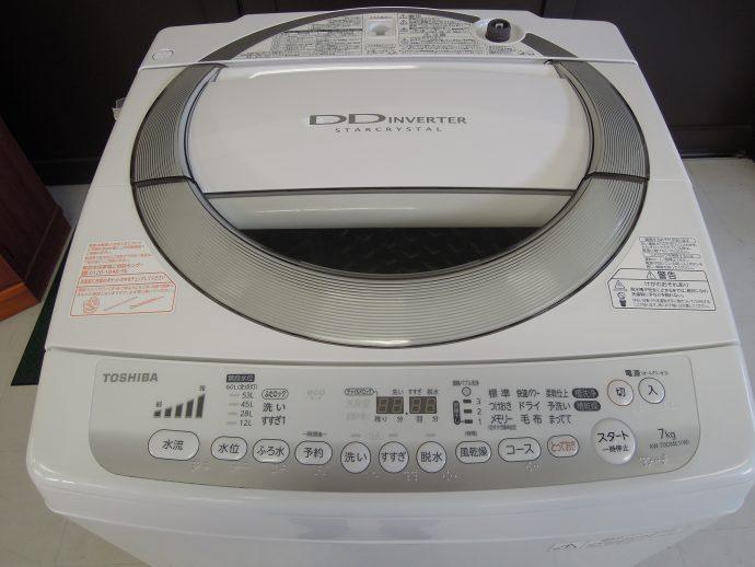 東芝 洗濯機/7K画像2