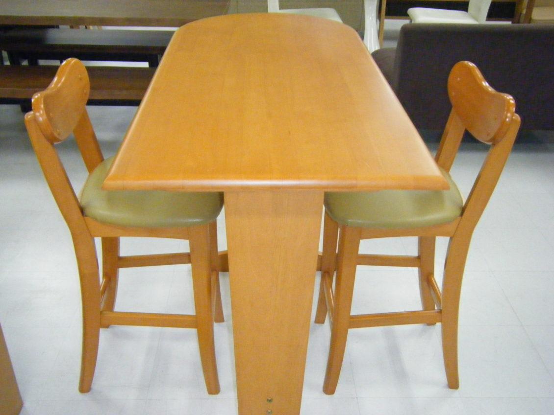 カウンターテーブルセット画像1